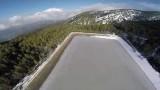 Prodromos Frozen Dam – Εντυπωσιακό βίντεο από Drone