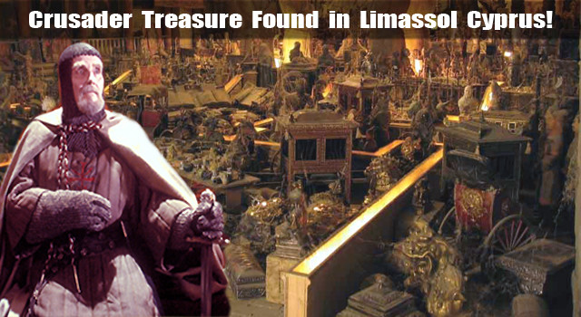 Crusader Treasure Found in Limassol Cyprus!