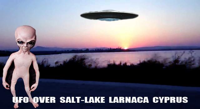 UFO over Larnaca Cyprus!