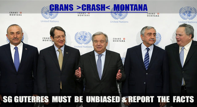 SG António Guterres must be unbiased…